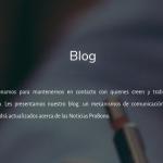Nuevo Blog Fundacion ProBono