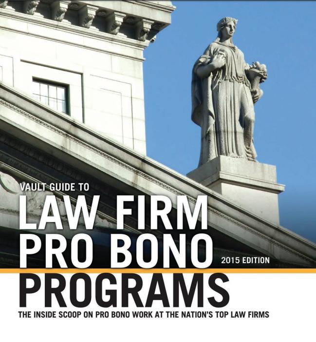 vault-gudie-to-law-firm-probono-programs
